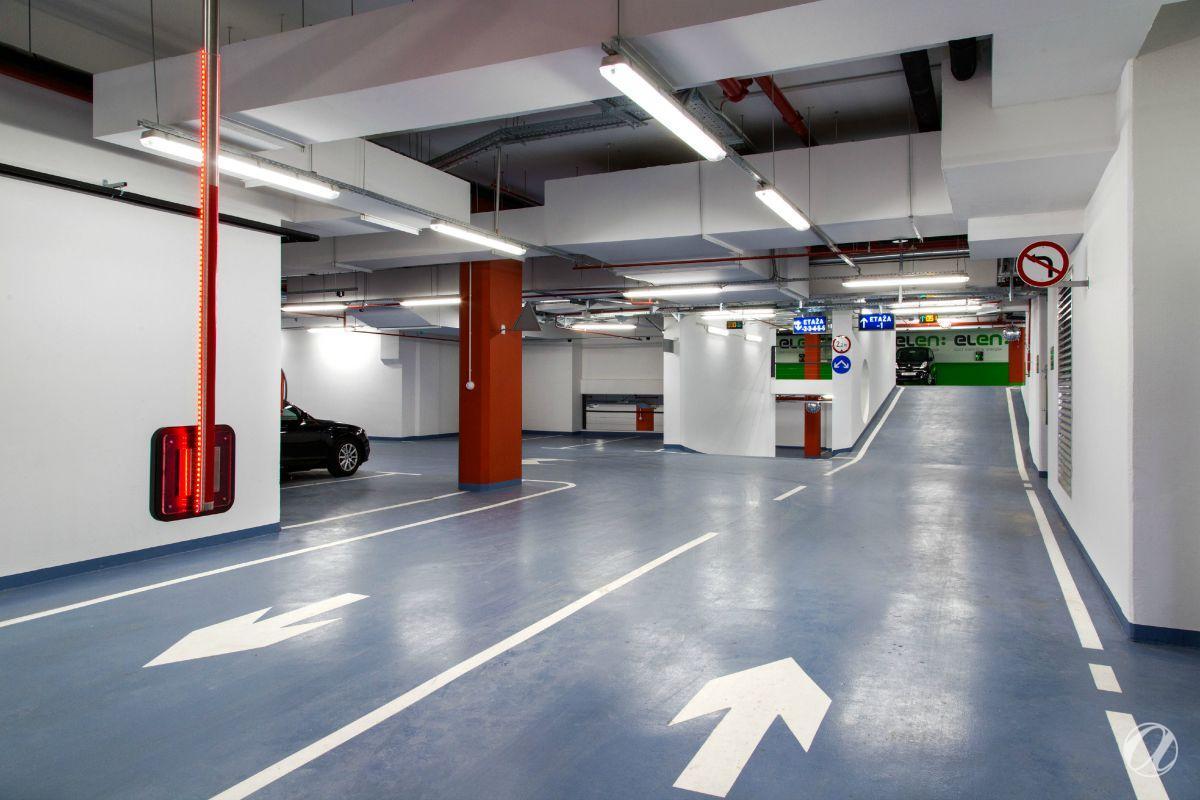 Zagreb - HEP podzemne garaže - 6 etaža