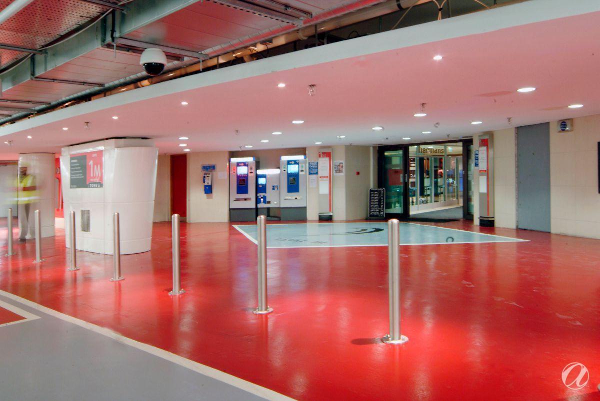 Podzemna garaža - Shopping centar