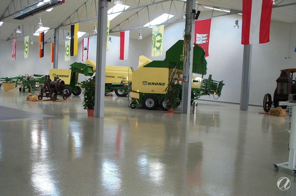 Krone - Exhibition and sales room