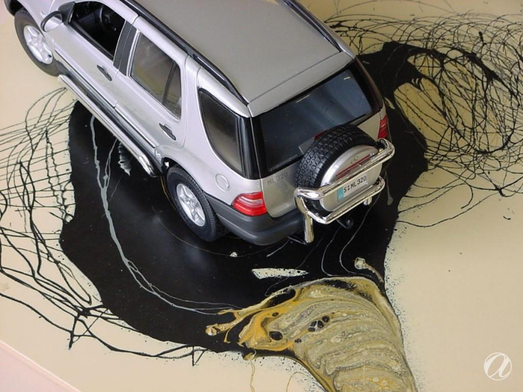 Epoxy podovi - auto salon