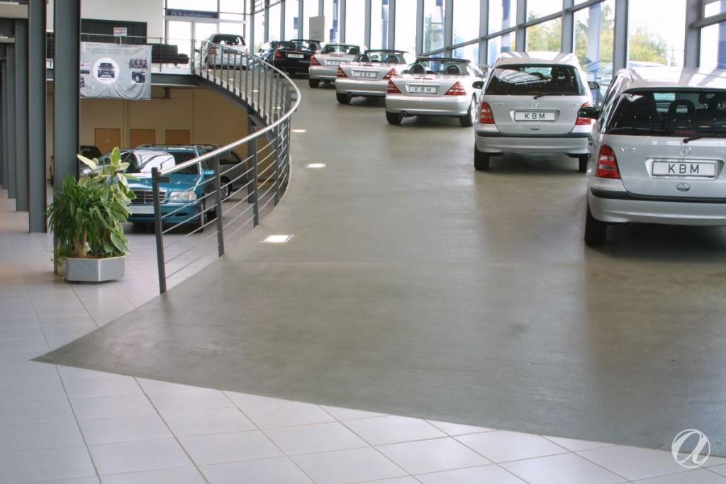 Epoxy podovi - auto salon_3
