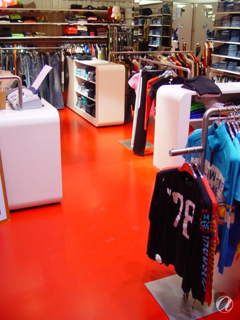 Epoxy podovi - trgovina odjecom